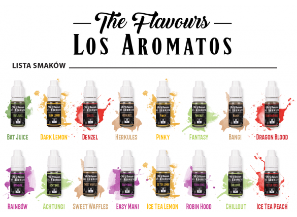 Aroma The Flavours - Los Aromatos BLACK 10 ml
