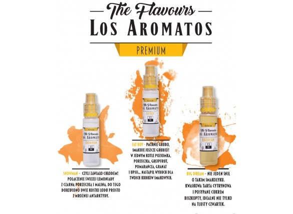 Aromat The Flavours - Los Aromatos PREMIUM 15 ml