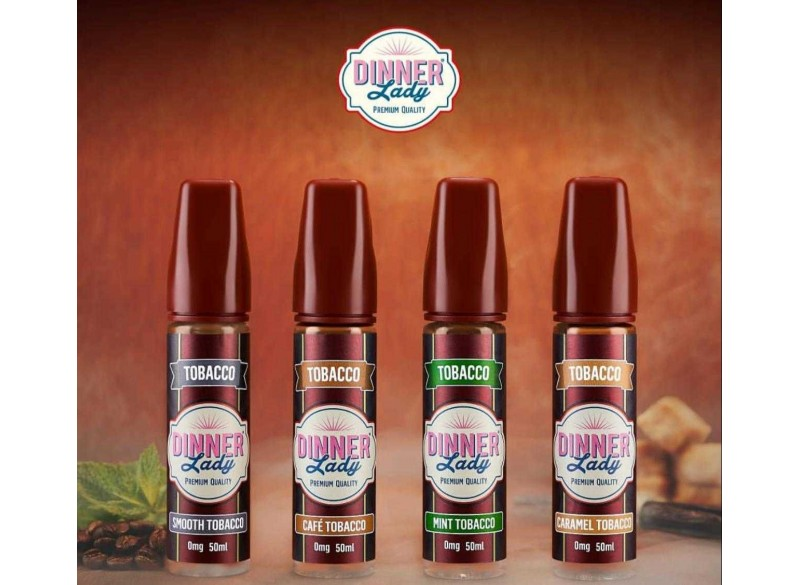 Shortfill Dinner Lady Tobacco 50 ml