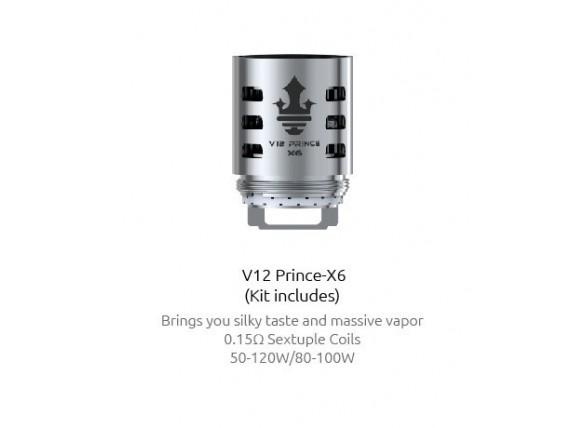 Smok TFV12 Prince Core X6
