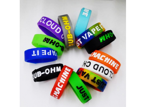 Vapeband ring 22-23mm different colours mix