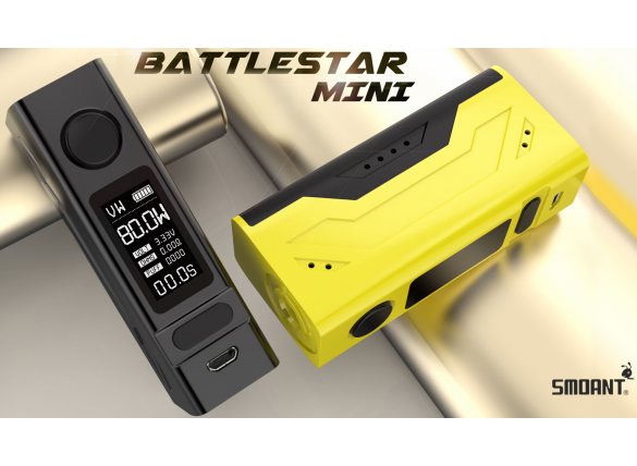 Smoant BATTLESTAR MINI 80W 0.96INCH DISPLAY TC MOD